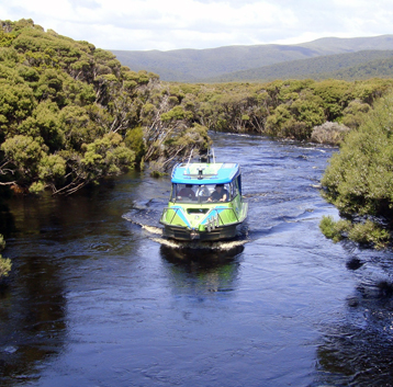 Aihe Eco Charters & Water Taxi on Freshwater River, Stewart Island